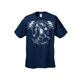 Men's T-Shirt Dreamcatcher Indian Native American Hawk Day & Night Wings Tee - Thumbnail 5
