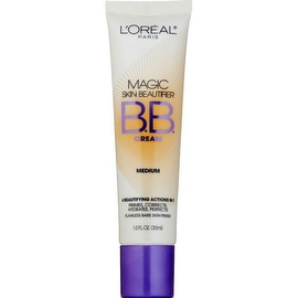 L'Oreal Paris Magic Skin Beautifier BB Cream, Medium [814] 1 oz