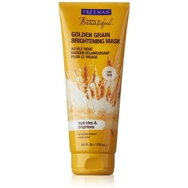 Freeman Feeling Beautiful Brightening Mask, Golden Grain 6 oz