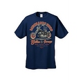 MEN'S BIKER T-SHIRT MOTORCYCLE MECHANIC SHOP BOBBER GARAGE L.A. S-XL 2X 3X 4X 5X - Thumbnail 5