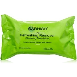Garnier Nutritioniste Nutri-Pure Detoxifying Wet Cleansing Towelettes, Oil-Free 25 ea