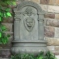 Sunnydaze Imperial Lion Outdoor Wall Fountain - Thumbnail 8