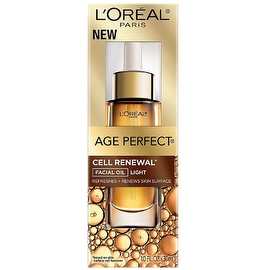L'Oreal Paris Age Perfect Cell Renew Facial Oil, Light 1 oz