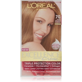 L'Oreal Paris Excellence Creme Haircolor Dark Golden Blonde [7G] (Warmer)