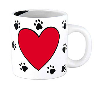 Pet Lovers Mug with Pen DIY