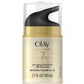 OLAY Total Effects 7 In One Anti-Aging Moisturizer With Sunscreen, SPF 30, 1.7 oz