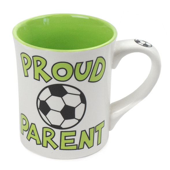 Proud Parent Soccer Mug