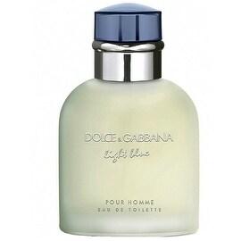 Dolce & Gabbana Light Blue Men's 2.5-ounce Eau de Toilette Spray