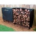 Landmann USA 82471 Heavy Duty Log Rack Cover, 8-Feet - Black - Thumbnail 1