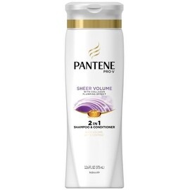 Pantene Pro-V Fine Hair Sheer Volume 2-in-1 Shampoo & Conditioner 12.60 oz