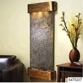 Adagio Inspiration Falls Wall Fountain Green FeatherStone Rustic Copper - IFR101 - Thumbnail 8