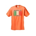 Men's T-Shirt Funny Made In Italy Barcode Italian Pride Unisex - Thumbnail 5