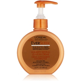 L'Oreal Hair Expertise EverSleek Humidity Defying Leave-In Creme 6 oz