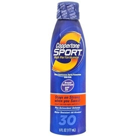 Coppertone Sport 6-ounce Clear Continuous Spray Sunscreen SPF 30
