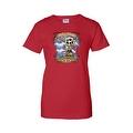 Women's Juniors T-Shirt Amor Inmortal Para Siempre Sugar Skull Katrina Death - Thumbnail 2