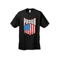 MEN'S T-SHIRT Proud American Distress Flag PATRIOTIC USA STARS & STRIPS TEE S-5X - Thumbnail 4