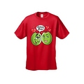 MEN'S / UNISEX T-SHIRT Olive You! FUNNY HEARTS VALENTINE'S DAY TOP S-2X 3X 4X 5X - Thumbnail 5