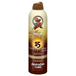 Australian Gold 6-ounce Continuous Spray with Instant Bronzer SPF 15