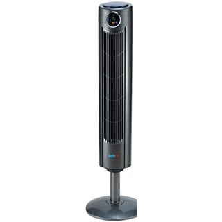 Arctic-Pro Digital Screen Tower Fan With Remote Control, Dark Gray, 42-Inches