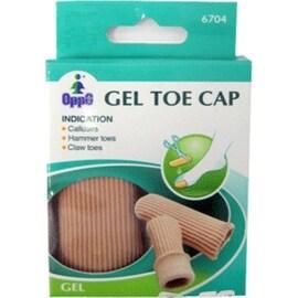 Oppo Gel Toe & Finger Cap, Medium [6704] 2 Pack