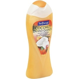 Softsoap Moisturizing Body Wash, Coconut Island Quench 15 oz