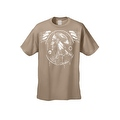 Men's T-Shirt Dreamcatcher Indian Native American Hawk Day & Night Wings Tee - Thumbnail 0