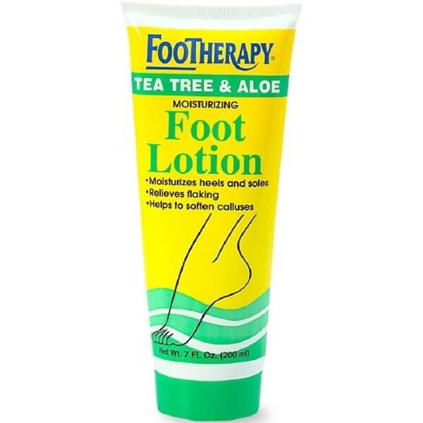 QUEEN HELENE Footherapy Foot Lotion, Tea Tree & Aloe, 7 oz
