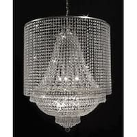 Empire Crystal Chandelier Lighting With Crystal Shade