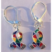 Autism Awareness Charm Earrings