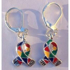 Autism Awareness Charm Earrings