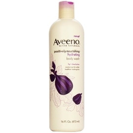 AVEENO Active Naturals Hydrating Body Wash, Fig + Shea Butter 16 oz
