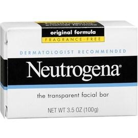 Neutrogena The Transparent Facial Bar Original Formula, Fragrance Free 3.50 oz