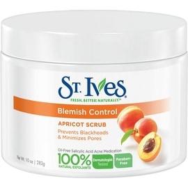 St. Ives Naturally Clear Apricot Scrub Blemish & Blackhead Control 10 oz