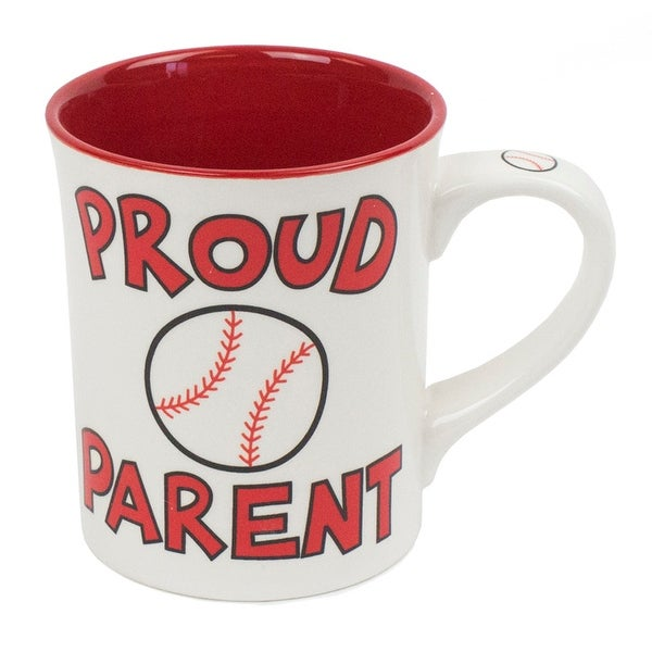 Proud Parent Baseball Mug