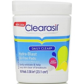 Clearasil Daily Clear Hydra-Blast Pads, 90 Pads