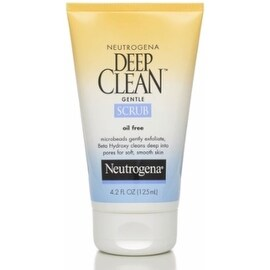 Neutrogena Deep Clean Gentle Scrub, Oil Free 4.20 oz