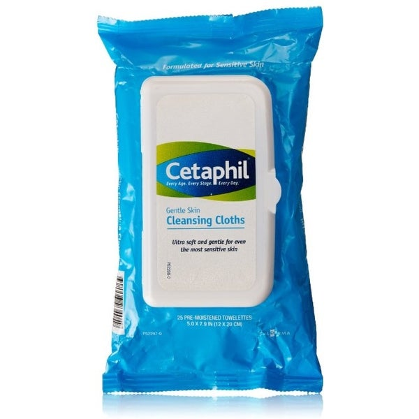 Cetaphil Gentle Skin Cleansing Cloths 25 ea