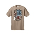 Men's T-Shirt USA Flag This Is My Gun Permit 2nd Amendment United States Tee - Thumbnail 3