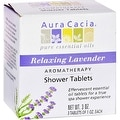 Aura Cacia Aromatherapy Shower Tablets, Relaxing Lavender 3 ea - Thumbnail 0
