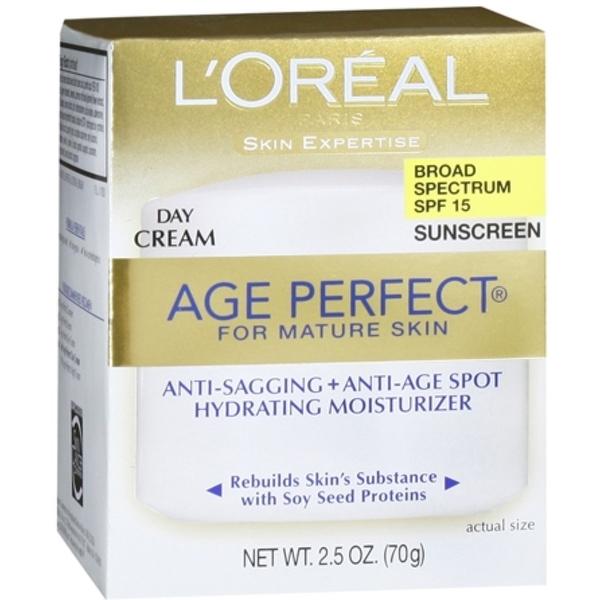 L'Oreal Dermo-Expertise Age Perfect for Mature Skin Day Cream SPF 15 2.50 oz