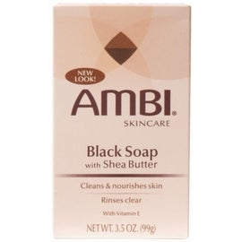 Ambi 3.5-ounce Black Soap with Shea Butter