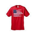 MEN'S AMERICAN FLAG T-SHIRT USA Ripped Distressed Flag STARS STRIPES HORIZONTAL - Thumbnail 8