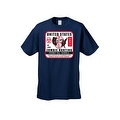 Men's T-Shirt United States No Limit Zombie Hunting Permit Walkers Graphic Tee - Thumbnail 3