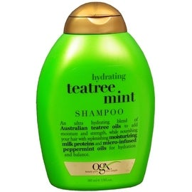 Organix Hydrating Tea Tree Mint Shampoo 13 oz