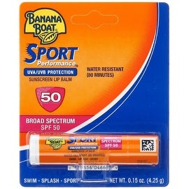 Banana Boat 0.15-ounce Sport Performance Sunscreen Lip Balm SPF 50