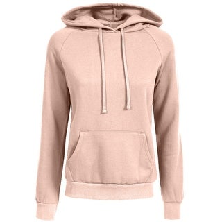NE PEOPLE Womens Casual Fleece Hoodie with Kangaroo Pockets [NEWT325]