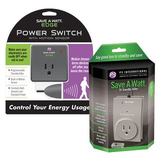 Unisex-Adult Save A Watt(R) Tv Standby And Edge Bundle - Electricity Saver - Automatic Shut Power Off