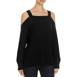Sanctuary Womens Amelie Pullover Sweater Knit Open Shoulder (4 options available)