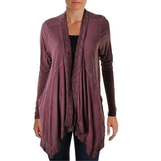 Moon & Sky Womens Cardigan Top Open Front Long Sleeves