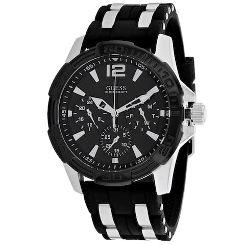 Guess Men's Classic Black Watch - W0366G1 - One Size